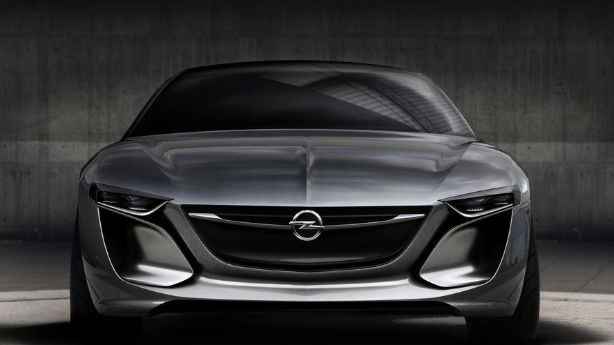 Opel Monza Concept teased once again
