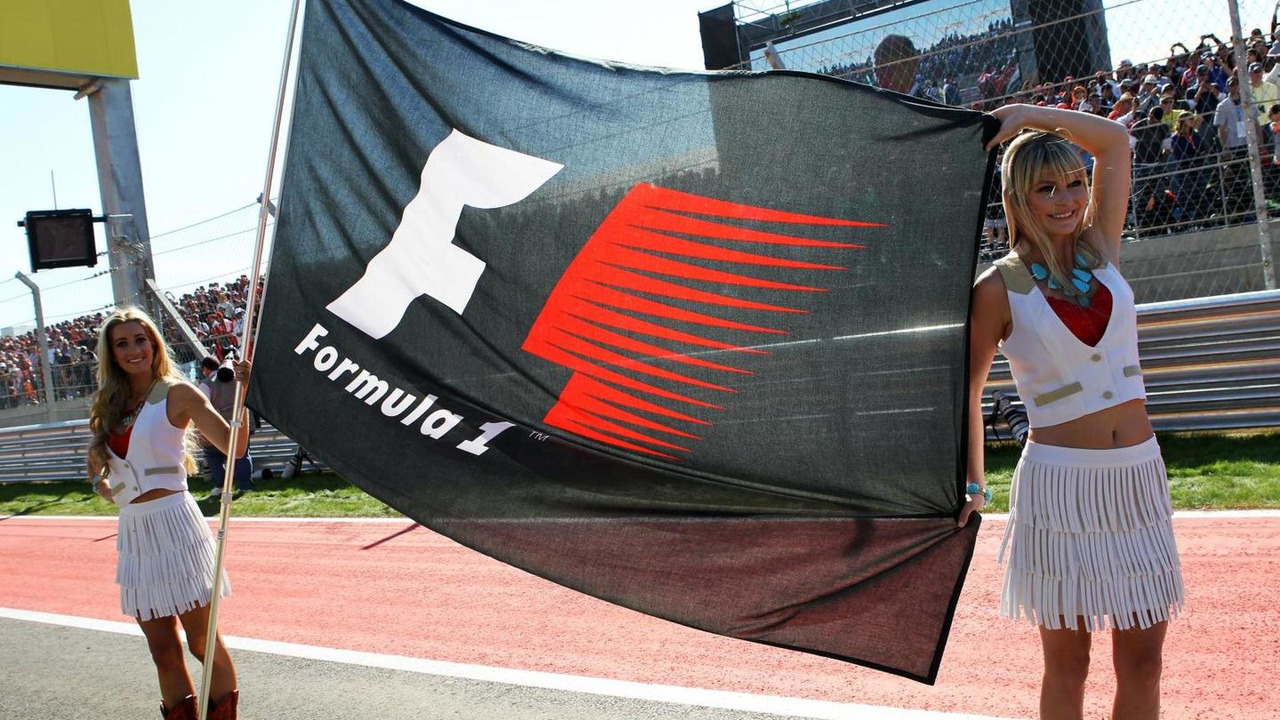 Fomula 1 flag 18.11.2012 United States Grand Prix