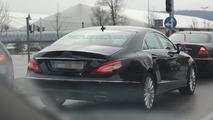 Makyajlı 2015 Mercedes-Benz CLS casus fotoğrafı