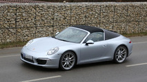 2014 Porsche 911 Targa spy photo