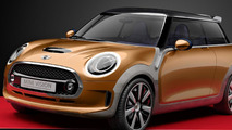 MINI Vision concept unveiled, previews the 2014 Cooper