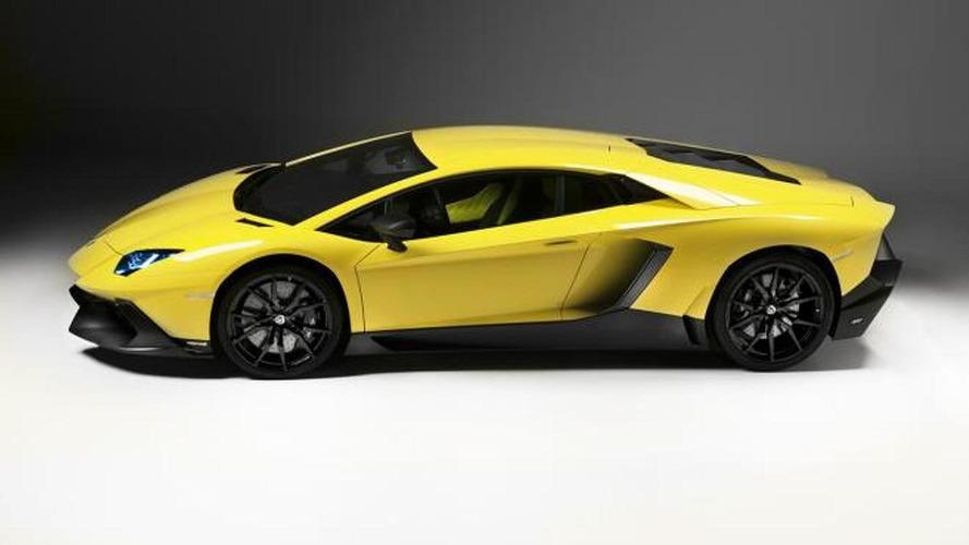Lamborghini Aventador LP720-4 50 Anniversario leaked