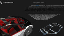 Citroen DS BiRotor Concept / José Eduardo Sánchez