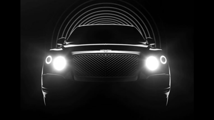 Vídeo: Bentley divulga teaser do novo SUV e confirma versão híbrida