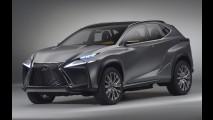 Lexus LF-NX de produção estará em Genebra com visual ousado mantido