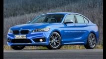 Projeção: Série 1 Sedan poderia ser resposta da BMW ao Audi A3 Sedan