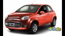 Fiat 344 - sucessor do Mille será feito em Betim em 2015