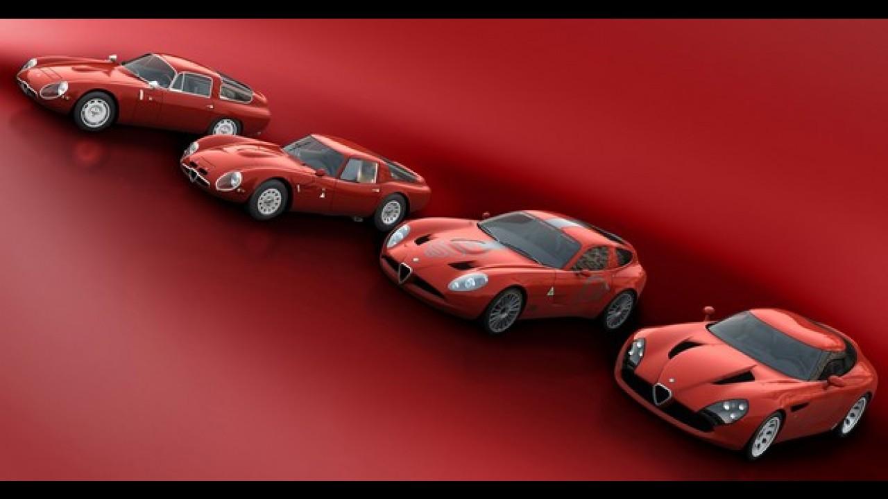 Este é o último Alfa Romeo Stradale TZ3 a ser produzido