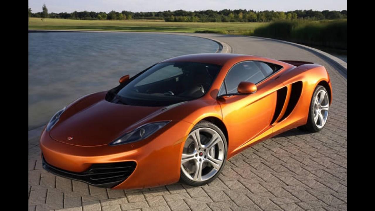 Novas máquinas: McLaren planeja um modelo novo por ano