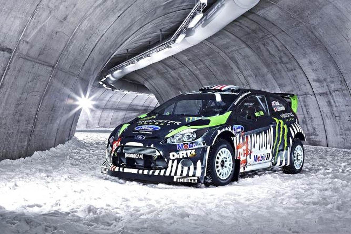 Tech Ride: Ken Block's Ford Fiesta RS Rally Car