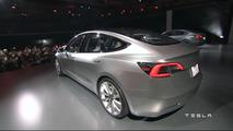 Tesla Model 3 tanıtılıyor