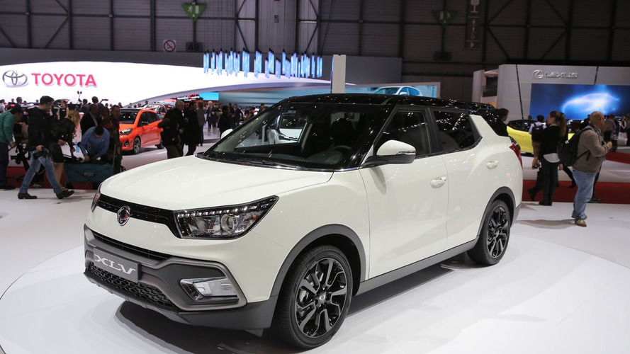 SsangYong Tivoli enlarged in Geneva with XLV version