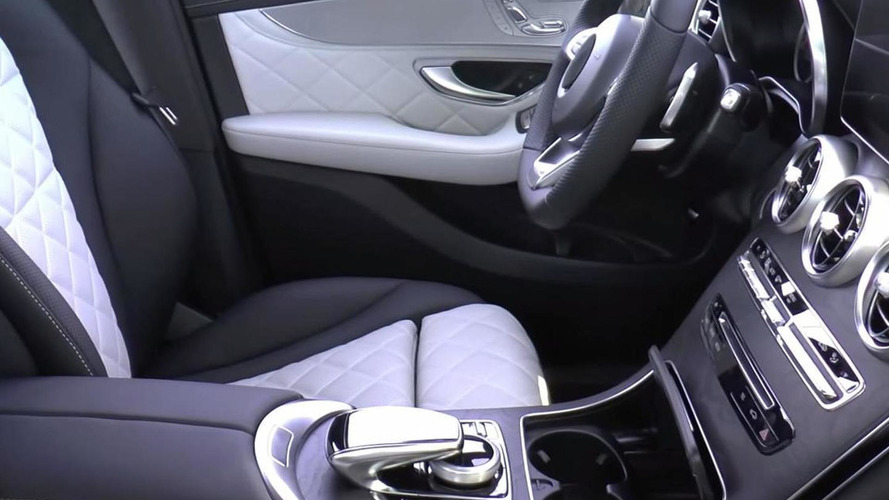 Mercedes-Benz GLC test fleet spied inside and out; cabin is virtually identical to C-Class [video]