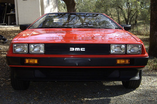 This Red DeLorean DMC-12 is a Barn Find Beauty