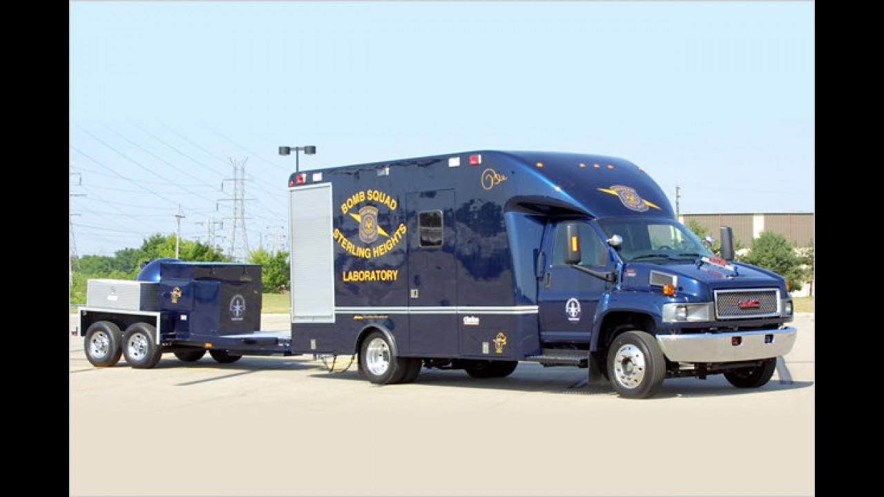 GMC Bomb Squad Truck