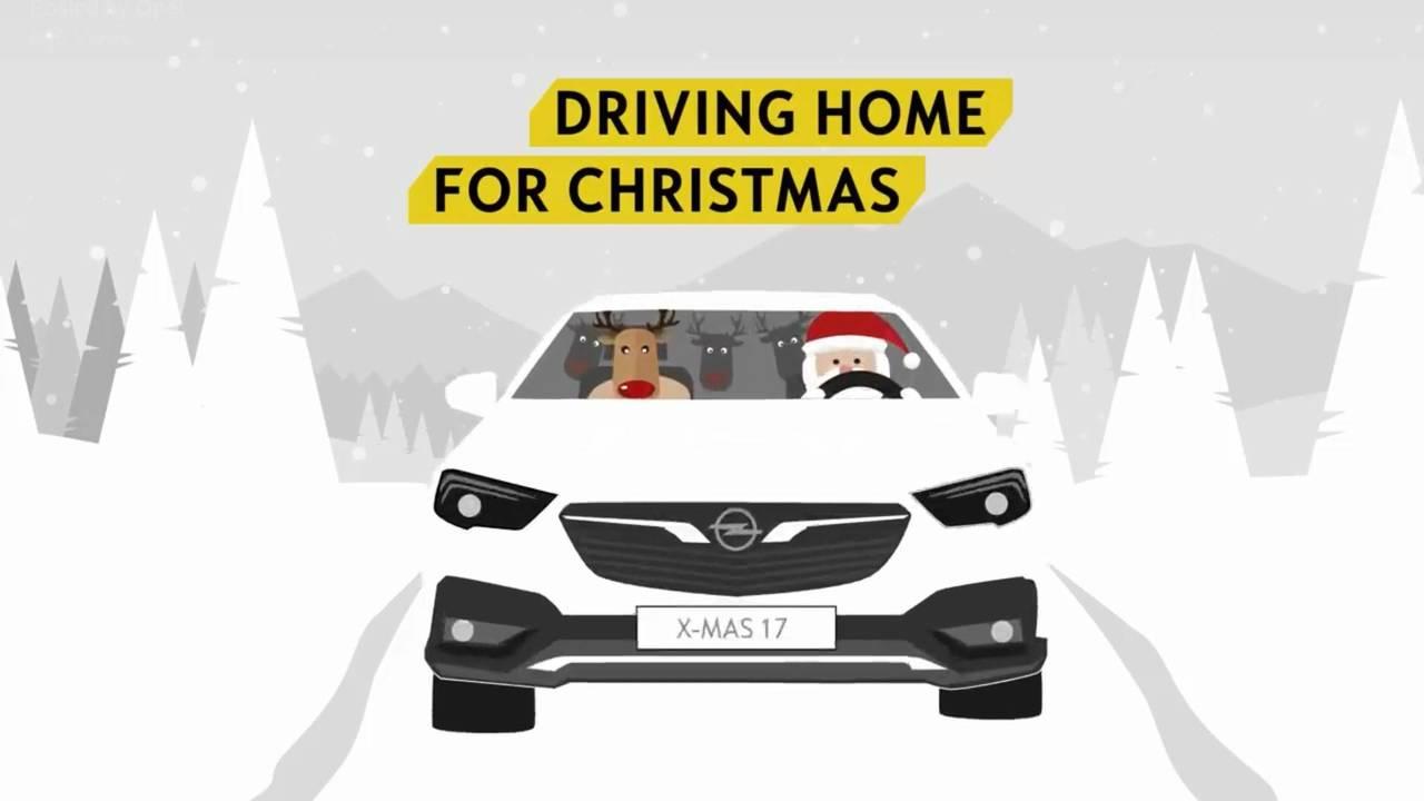 Opel karácsonyi üdvözlet