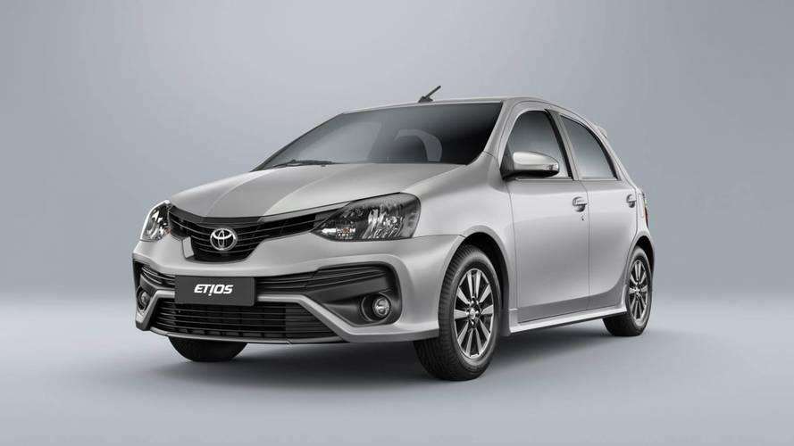 Toyota Etios tem aumento de preços e fica até R$ 440 mais caro