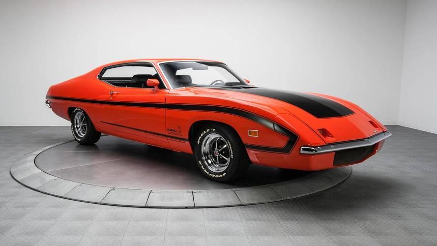 Bu 1970 Ford Torino yeni bir Ford GT'den bile daha pahalı