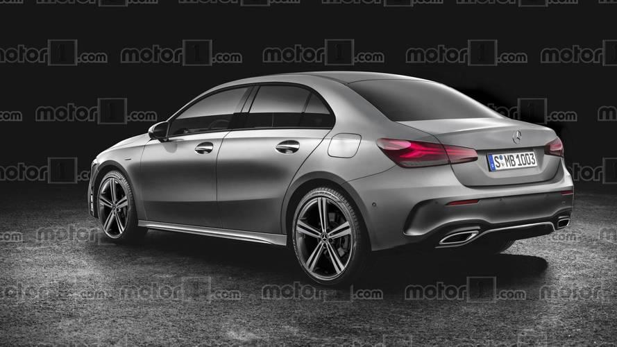 Mercedes A-Serisi Sedan'ın hayali tasarımı gerçekçi görünüyor