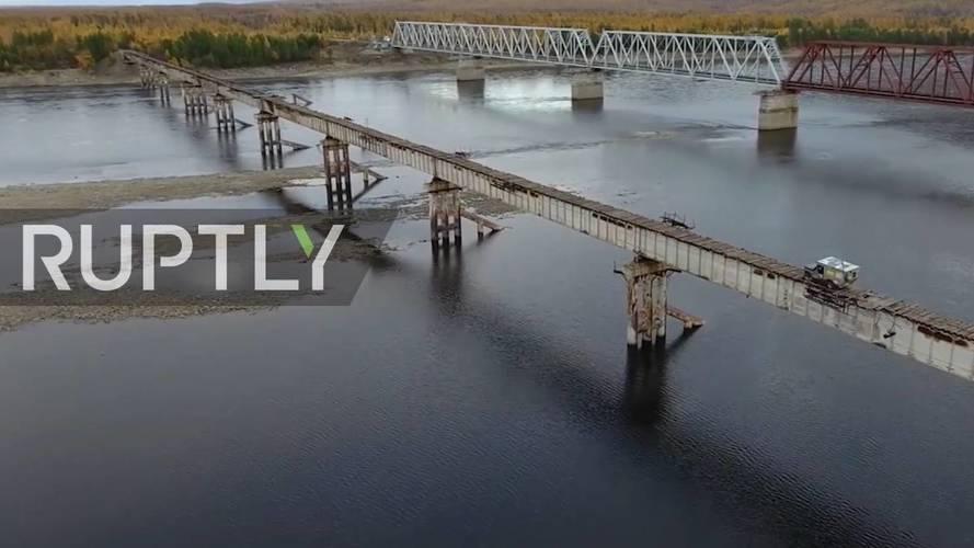 Bevállalnád? Állítólag ez Oroszország legijesztőbb hídja