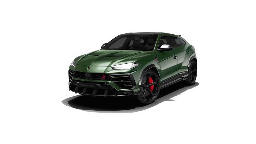 Modifiye firması Lamborghini Urus'u daha da agresifleştirdi