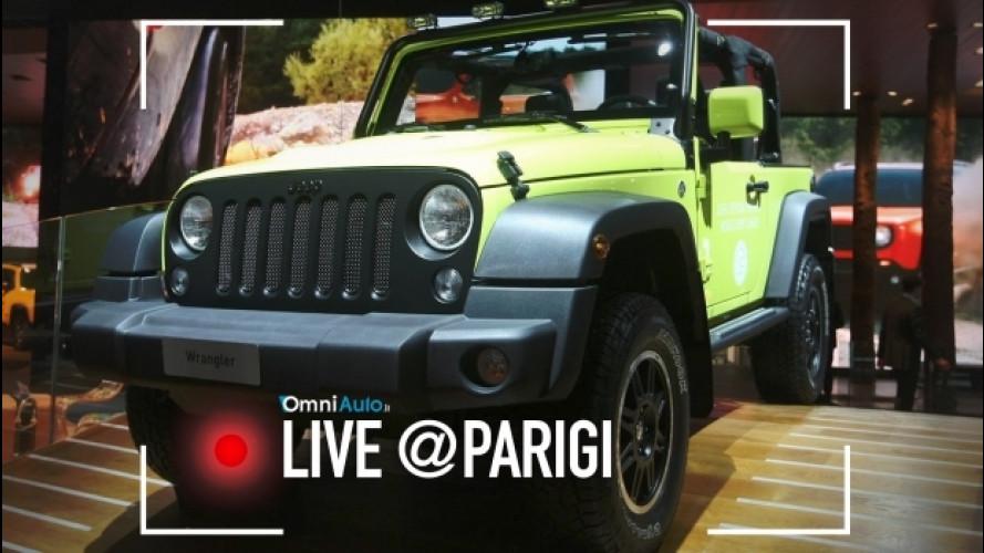 Salone di Parigi, Jeep e Mopar insieme per stupire