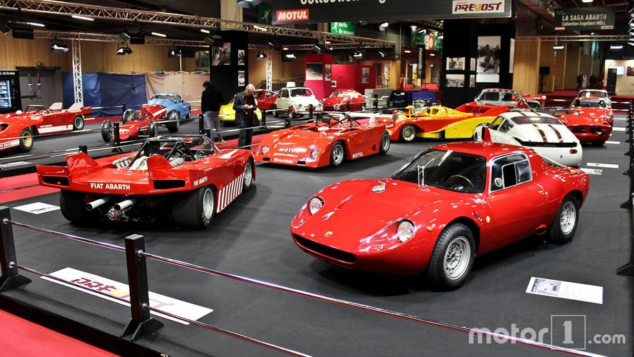 PHOTOS - La Saga Abarth au Salon Rétromobile 2018