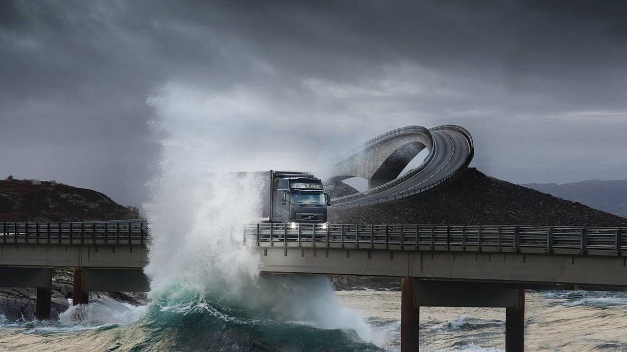 1.- Carretera del Atlántico Norte o Atlanterhavsveien (Noruega)