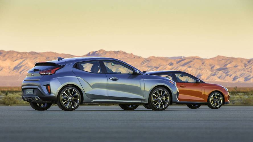 Don't look at the new Hyundai Veloster, it's not coming to the UK