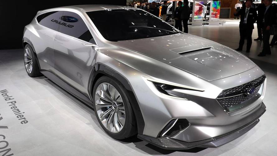 Subaru Viziv Tourer concept offers look at future cars
