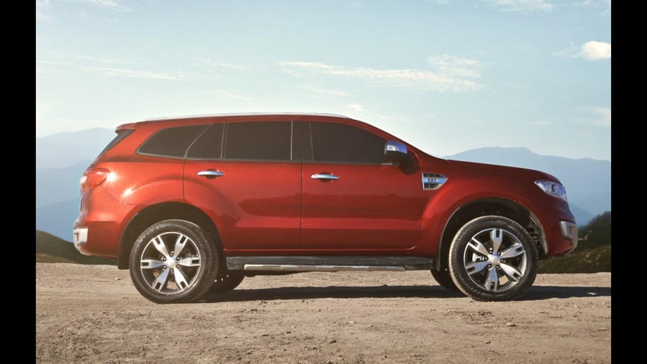 """Longe do Brasil, Everest foi pensado para ser mais que """"SUV da Ranger"""""""