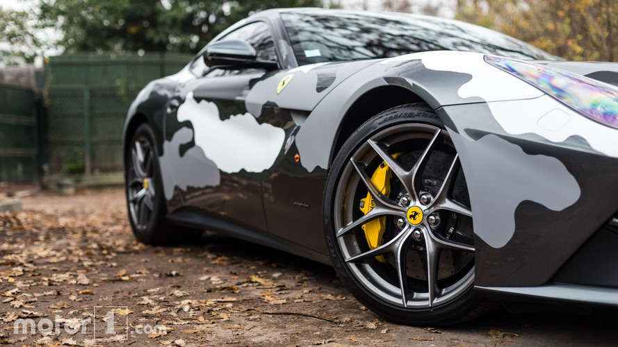 KVC - Ferrari F12 camouflage