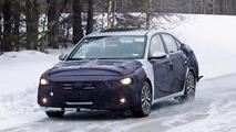 Hyundai Celesta and Kia sedan spy photos