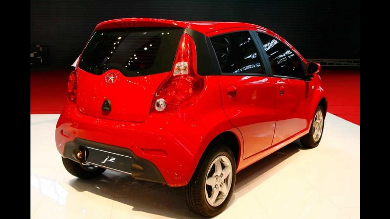 Paraguai inaugura produção de automóveis e o primeiro modelo é o JAC J2