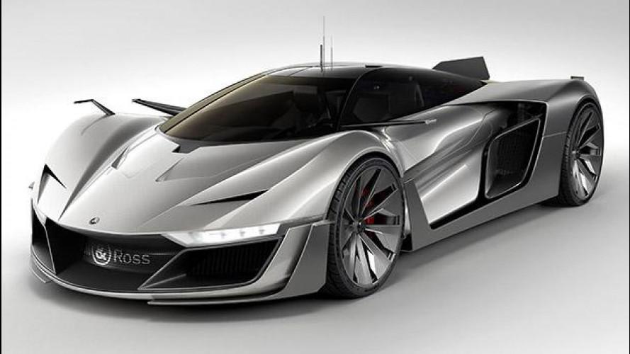 Bell & Ross Aero GT concept, dagli orologi alle supercar