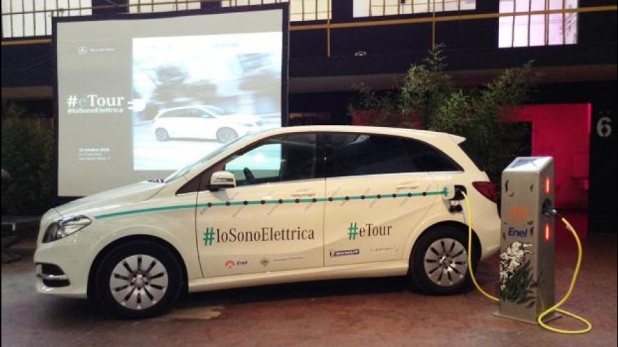 Auto elettrica, ACI e Mercedes firmano un protocollo di guida sicura