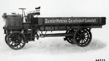 1897 5-tonner - engine installed above front axle
