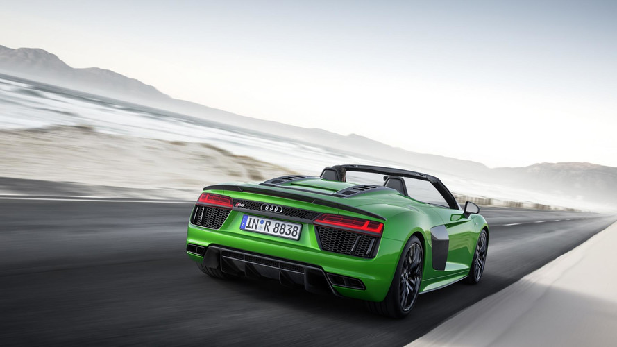 Audi R8 Spyder V10 Plus Adds Power