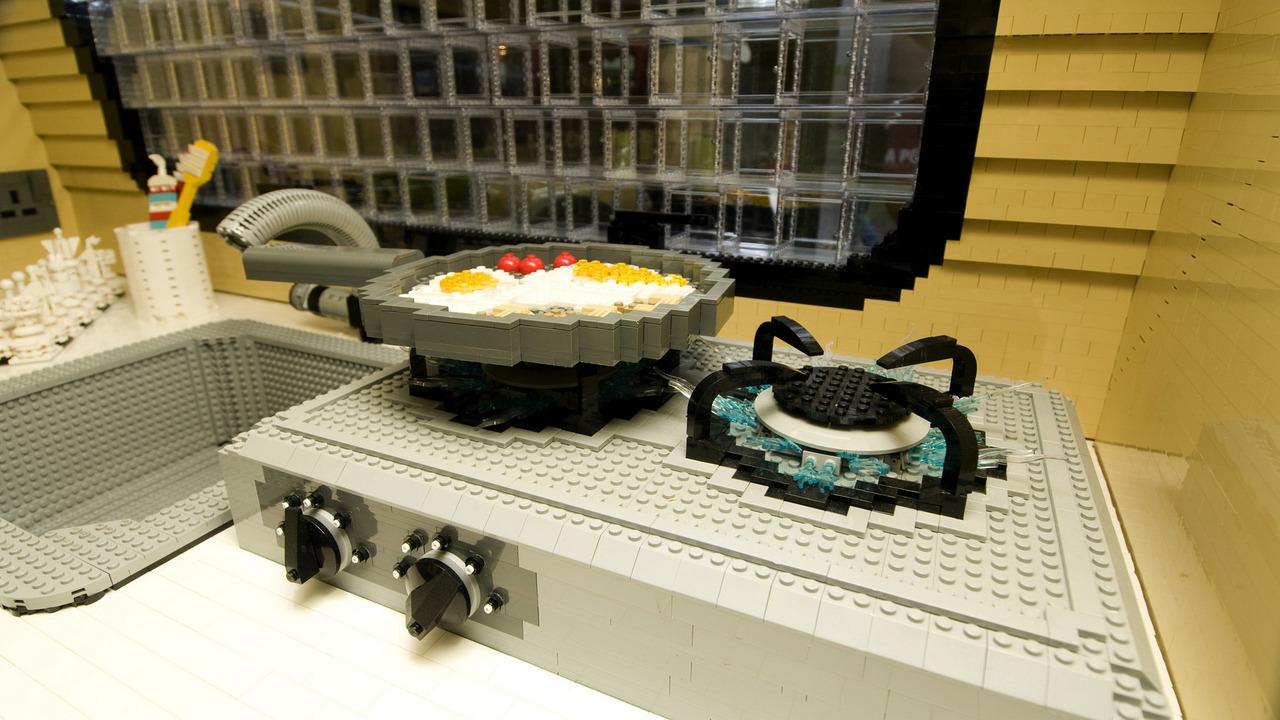 Life Size Lego Caravan Sets New World Record