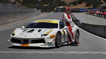 Michael Fassbender Ferrari Challenge