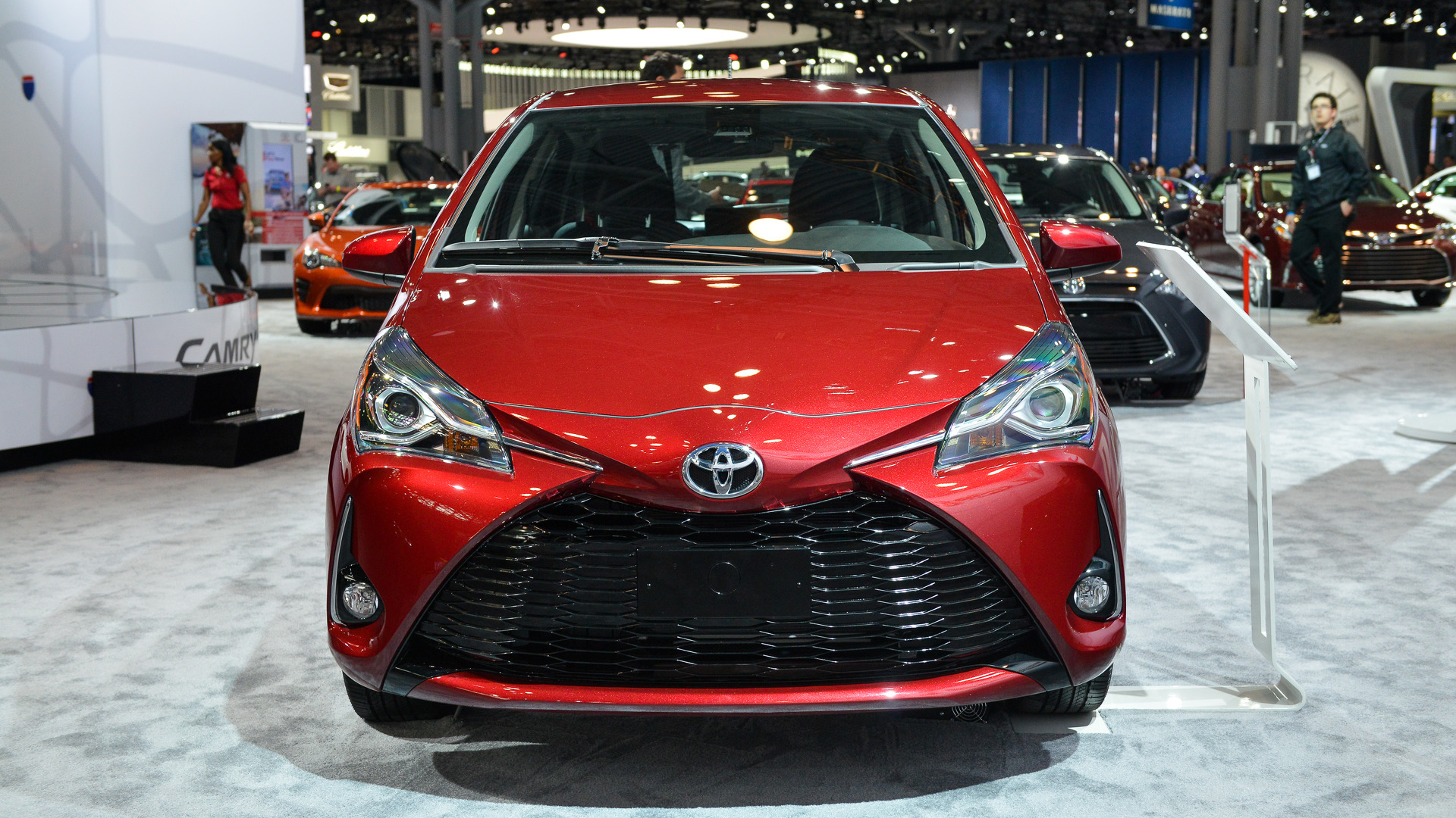 2017 toyota yaris debuts with more than 900 new parts buycottarizona Choice Image