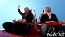 Ferrari Roller Coaster Pigeon Video