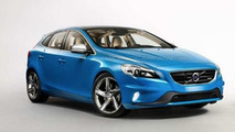 Volvo V40 R-Design leaked photo, 600, 04.04.2012