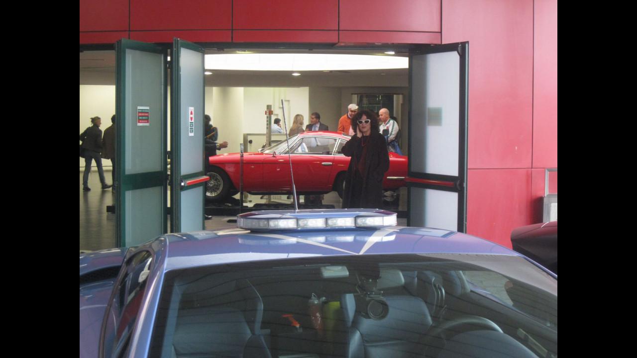 La storia Lamborghini all'aeroporto di Bologna