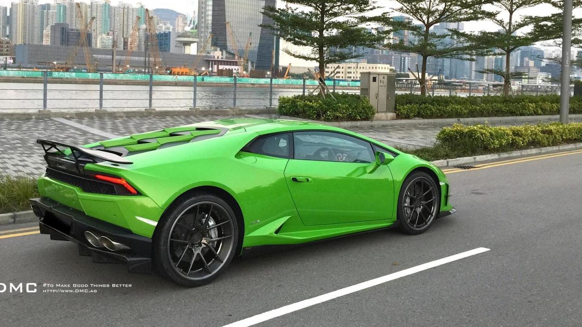 Тюнингованная Lamborghini Huracan Affari
