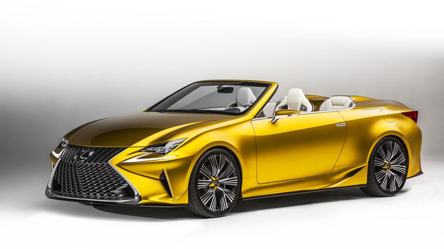Lexus IS Convertible replacement could be based on LF-C2 or LF-LC concepts