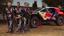 Peugeot 2008 DKR with 2015 Dakar rally livery
