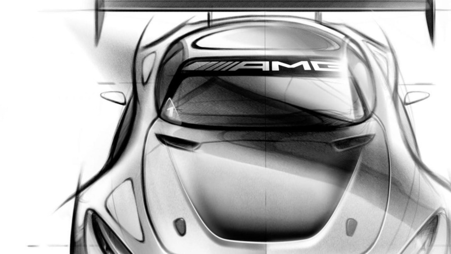 Mercedes-AMG GT3 teased ahead of Geneva reveal