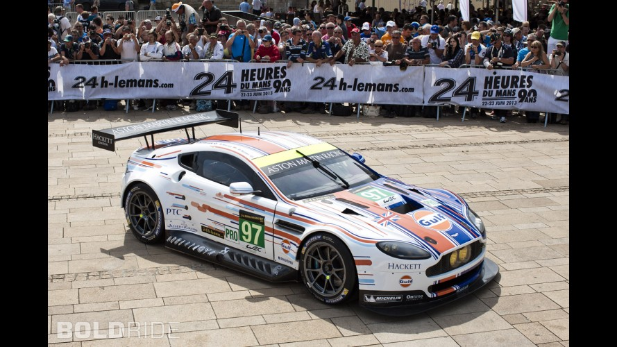 Aston Martin Vantage GTE Le Mans Gulf