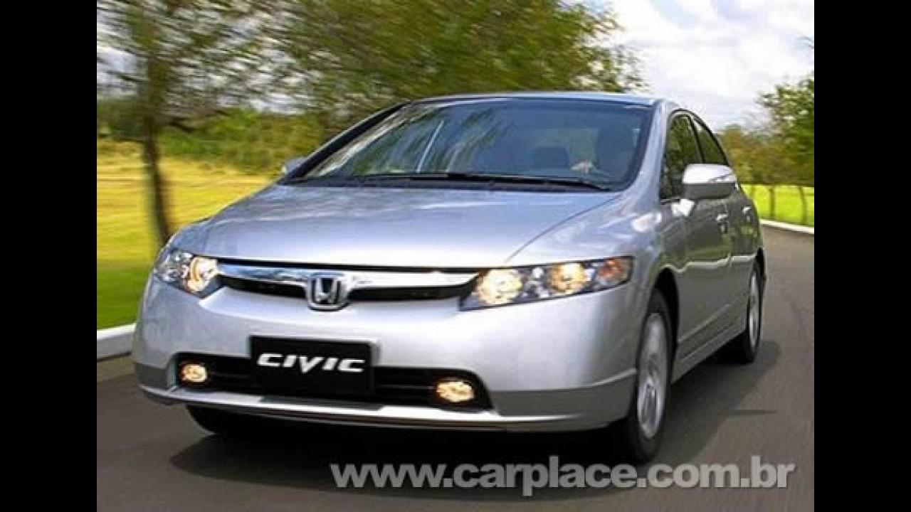 Honda Civic chega a marca de 300 mil unidades produzidas no Brasil
